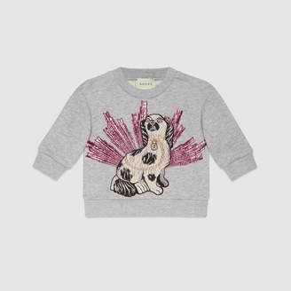 Gucci Baby embroidered sweatshirt