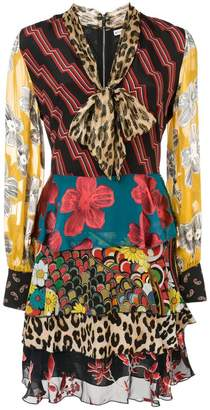 20feb39803 Alice + Olivia Alice+Olivia Dasha multi-print dress