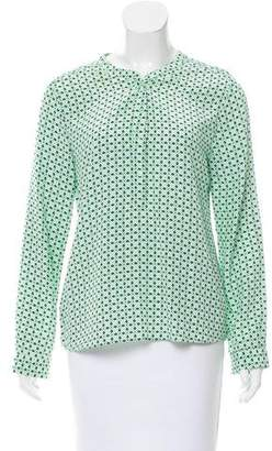 Joie Printed Button Up Blouse