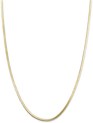 "Giani Bernini 18K Gold over Sterling Silver Necklace, 18"" Snake Chain Necklace"