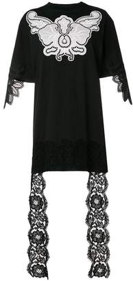 Fausto Puglisi embroidered lace detail blouse