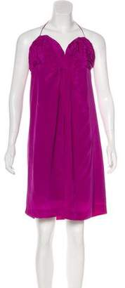 Foley + Corinna Silk Knee-Length Dress