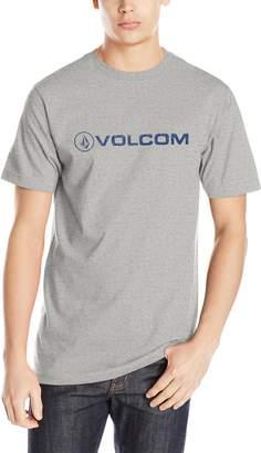 Volcom Men's Euro Pencil T-Shirt, Heather Grey