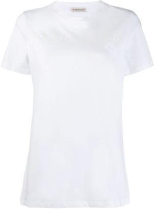 Moncler logo print T-shirt