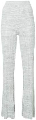 Elizabeth and James flared knit trousers