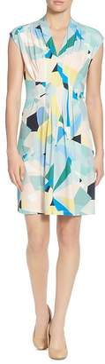Catherine Malandrino Tinka Pleated Printed Dress