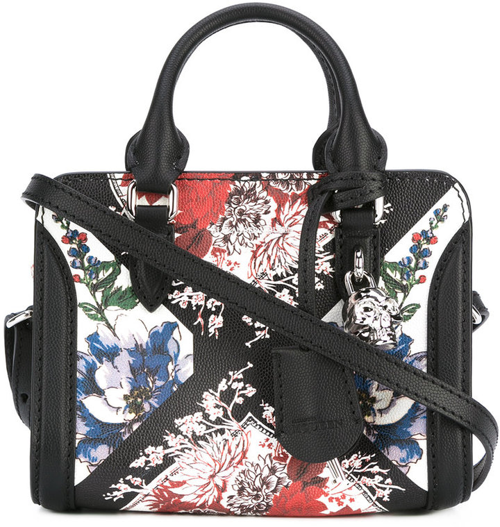 Alexander McQueen Alexander McQueen mini Padlock table cloth tote