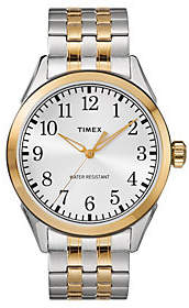 Timex Men's Two-Tone Stainless Expansion Band Analog Watch