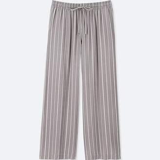 Uniqlo Women's Striped Drape Wide Pants