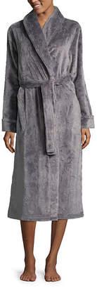 Liz Claiborne Long Sleeve Fleece Robe