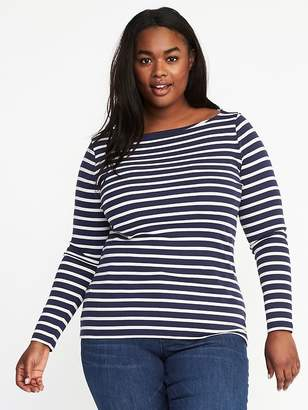 Old Navy Classic Plus-Size Boat-Neck Tee