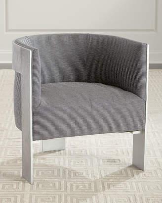 Bernhardt Cosway Aluminum Frame Chair