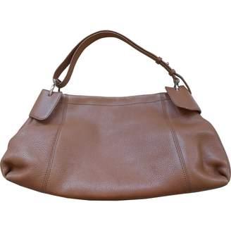 Salvatore Ferragamo Camel Leather Handbag