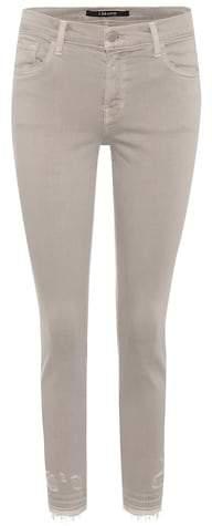 Skinny Jeans Capri Mid-Rise