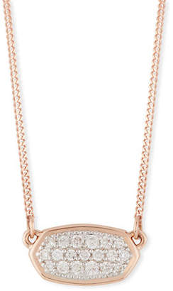 Kendra Scott Lisa 14k Gold Diamond Pendant Necklace