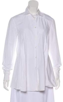 Hatch Long Sleeve Button-Up Top