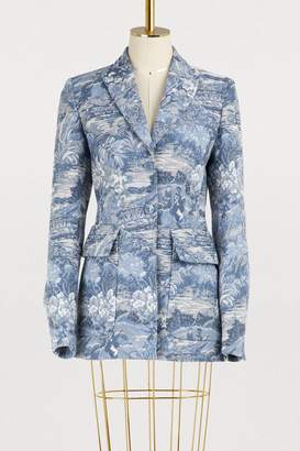 Off-White Off White Tapestry blazer