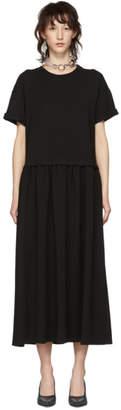 MM6 MAISON MARGIELA Black Jersey Dress