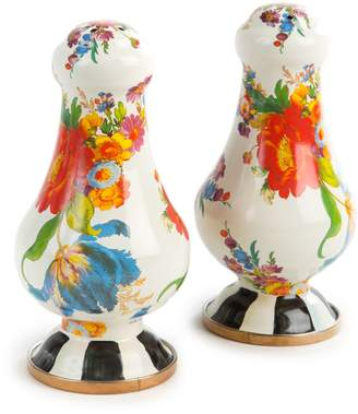 Mackenzie Childs Flower Market Salt and Pepper Shakers