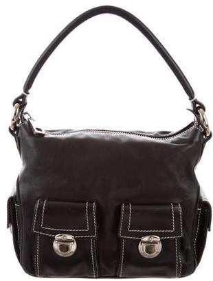 Marc Jacobs Pebbled Leather Shoulder Bag