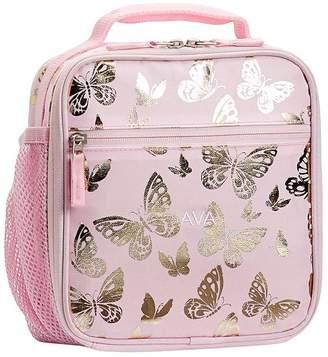 4a68943bcc27 Pottery Barn Kids Mackenzie Pink Gold Foil Butterflies Backpacks