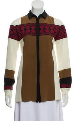 Etro Silk Blouse red Silk Blouse