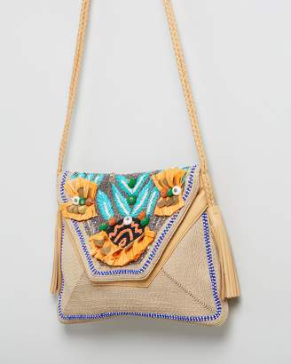 Antik Batik Pallas Envelope Crossbody Bag