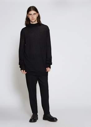 Ann Demeulemeester Corolla Mockneck Sweater