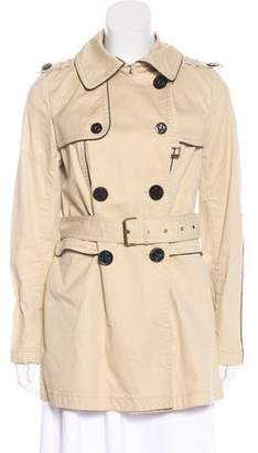 Juicy Couture Double-Breasted Trench Coat