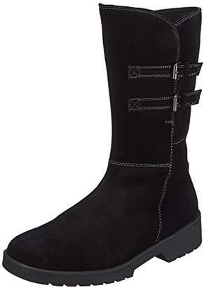 Ganter Women 0-205552-01000 Warm Lined Classic Boots Long Length Black Size: 6 UK