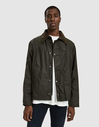 Engineered Garments Barbour Graham Wax in Archive Olive