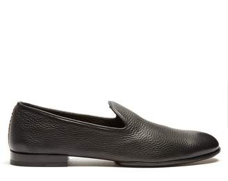 Fratelli Rossetti Montana grained-leather loafers