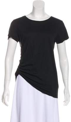 AllSaints Short Sleeve Ruched Top