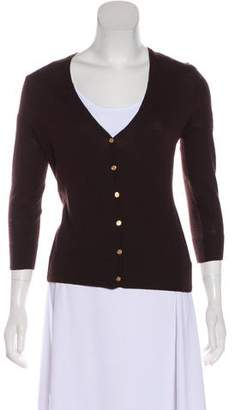 Tory Burch Lightweight Wool Cardigan