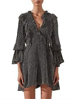Shona Joy Salinger Ruffle Mini Dress