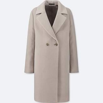 Uniqlo Women's Lightweight Wool-blend Tailored Coat