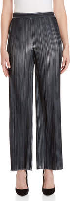 Emilio Pucci Black Plisse Pleated Pants