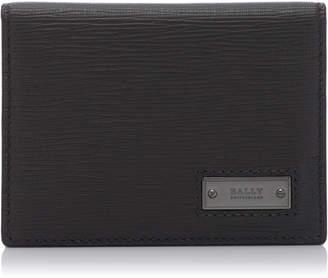 Bally Balder Calfskin Folding Card Case