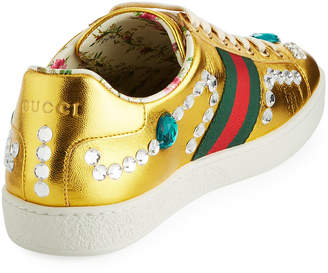 Gucci New Ace Low-Top Sneakers