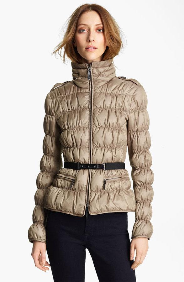 Burberry Techno Weave Puffer Jacket