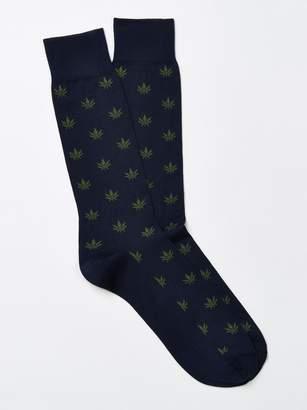 Marijuana Leaf Socks