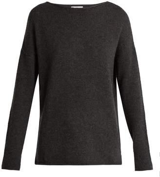 Allude Boat-neck cashmere sweater