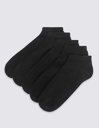 Marks and Spencer 5 Pack Trainer Liner Socks