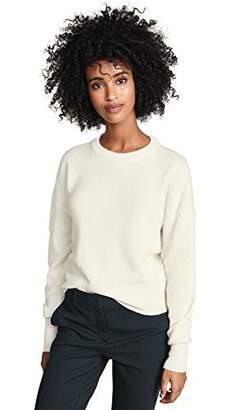 Theory Women's Drop Shoulder Crewneck Sweater