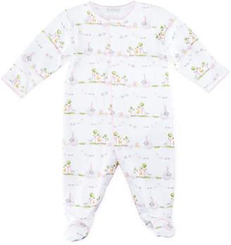 Kissy Kissy Noah's Ark Printed Footie Pajamas, Size Newborn-9 Months
