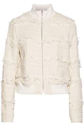 A.L.C. Judd Frayed Cotton-Blend Bouclé-Tweed Jacket