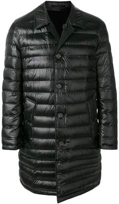Burberry padded mid-length coat