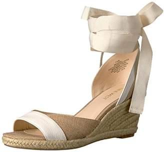 Nine West Women's Jaxel Fabric Wedge Sandal