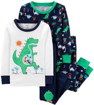 9a196d6acc32 Carter s Blue Boys  Pajamas - ShopStyle