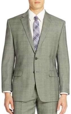 Lauren Ralph Lauren Classic-Fit Check Ultra-Flex Wool Suit Separate Jacket